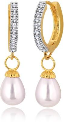 Alamod ALER 5036 Cubic Zirconia Brass Drop Earring