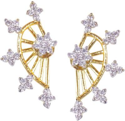 Muchmore Cute Star Cubic Zirconia Alloy Cuff Earring