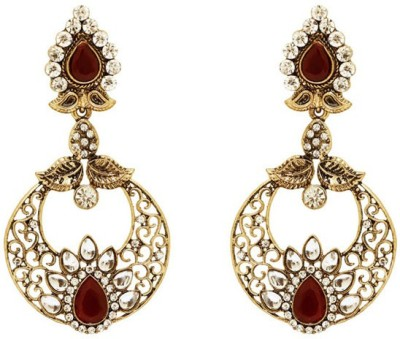 Saashis Closet Twinklets Alloy Drop Earring