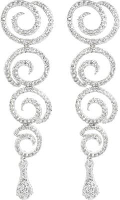 Dilan Jewels EAR000047 Zircon Sterling Silver Dangle Earring