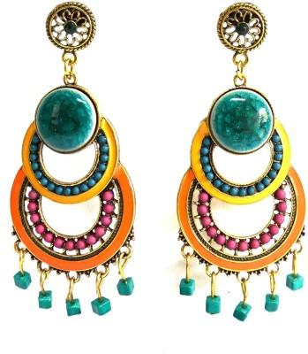 Threadstone Beautiful Colours Zinc Drop Earring
