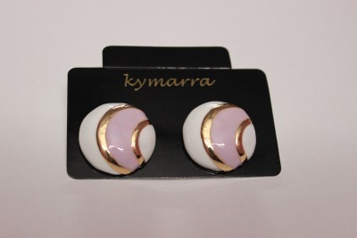 Kymarra Swing In Style Brass Earring Set
