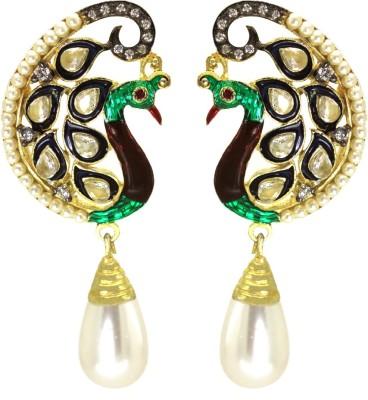 Prisha Beautiful Cz Stones Fashion Earrings Zircon Copper Drop Earring