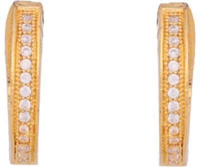 Abhijewels Cubic Zirconia Alloy Stud Earring