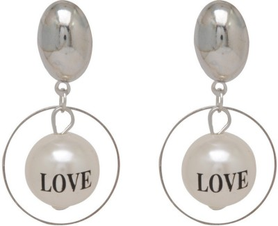 Jaipur Mart OVal Shape Love definition Alloy Drop Earring
