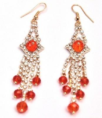 Jodhpuriyas Sparkling-Ear-304 Alloy Dangle Earring