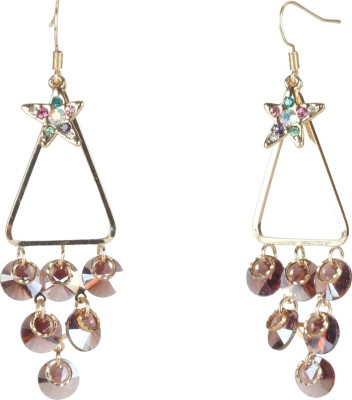 Jaipur Couture Chick Style Metal Chandelier Earring