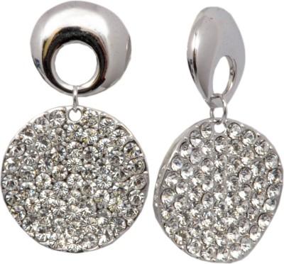 Royal Sterling Silver Earrings Swarovski Crystal Alloy Dangle Earring