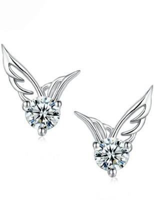 FreshMe Fashion Jewellery Pretty Good Cubic Zirconia Alloy Stud Earring
