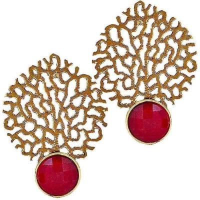 Deco Junction Ethenic stud earring Brass Stud Earring