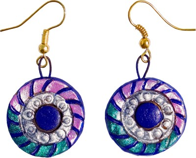 Retaaz Puspakara Karnika Terracotta Ceramic Dangle Earring