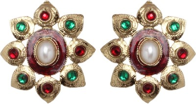 Vendee Fashion Floral Jewelry Zinc Stud Earring
