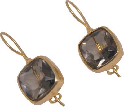 Arvino Tunnel Of Love Brass Drop Earring