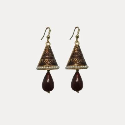 Indianpasand Rajastani Merron Alloy Dangle Earring