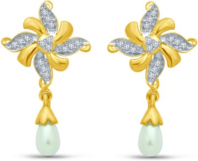 Eldora Cubic Zirconia Alloy Drop Earring