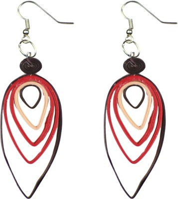 Trendmania Multi layered paper quilled earrings Paper Dangle Earring
