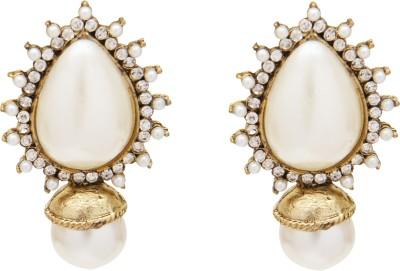 SB Fashions kundan earring Brass Stud Earring