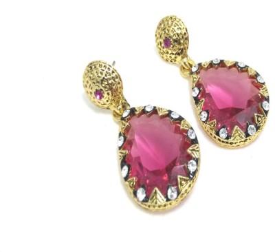 Fashion Pitaraa Golden Sparkel Alloy Drop Earring