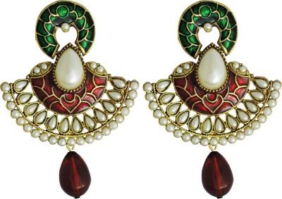 Aura Collection Statement30 Alloy Chandbali Earring