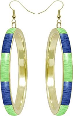 Kenway Retail Pleasant Luxe Brass, Bone Dangle Earring