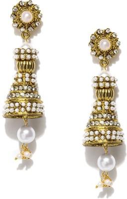 Hi Look E-0590-GD Crystal Alloy Drop Earring