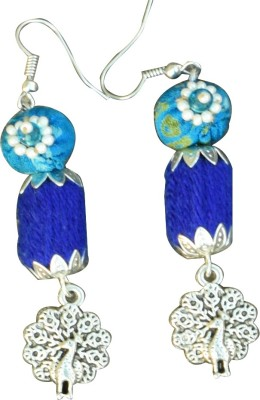 Ba No Batwo peacock Metal Dangle Earring