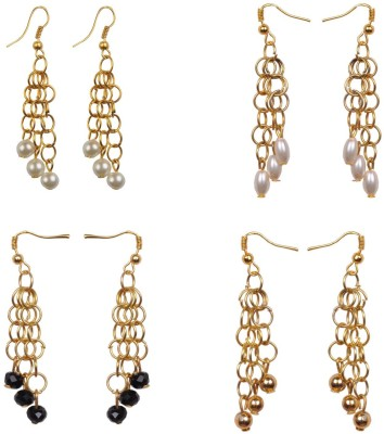 RK City Shopping RK-Fashion-Earring0002 Crystal, Plastic, Metal Earring Set