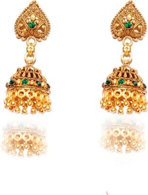Gajraula Crafts Valentine Special Alloy Jhumki Earring
