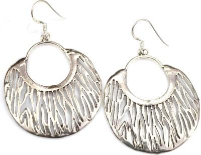 Anavaysilver Ear037 Sterling Silver Chandbali Earring