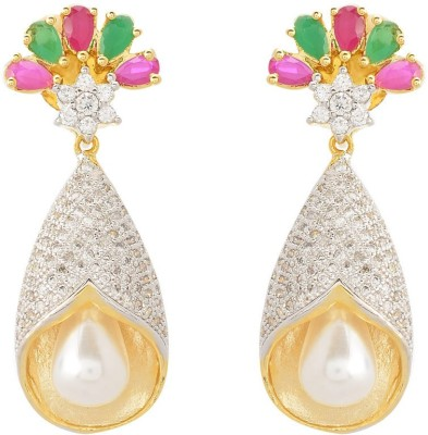 Dazzle Collections Trendy Classy Alloy Drop Earring