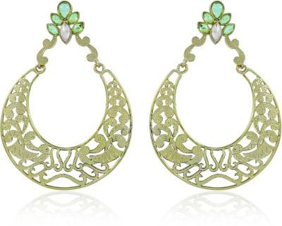 BoBell Bollywood Antique Gold Jhumar Copper Chandbali Earring