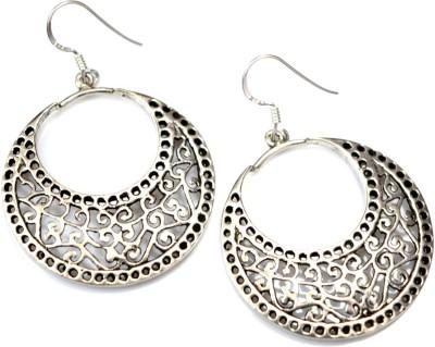 Anavaysilver Ear020 Sterling Silver Chandbali Earring