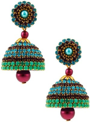 Halowishes Fancy Ball Chain Handcrafted Jhumka Paper Jhumki Earring