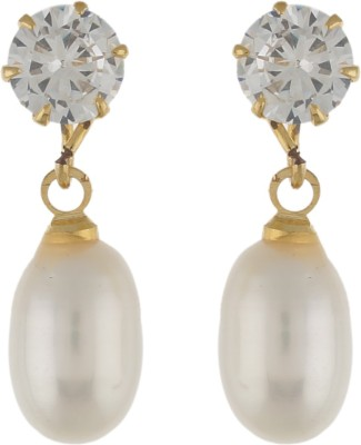 hyderabade Pearl Alloy Earring Set