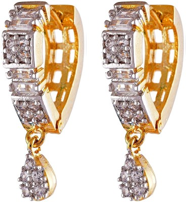 Enzy 18kt Gold Plated Stunning Paan Baali Alloy Clip-on Earring