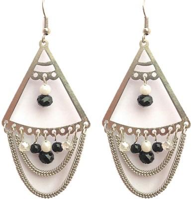 SGE SGE-E7 Beads Metal, Stone Dangle Earring