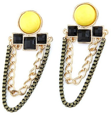 Jewel Touch Gorgeous Geometric Alloy Drop Earring