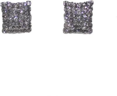 Bandish Stone Studded Stud Earring Metal Stud Earring