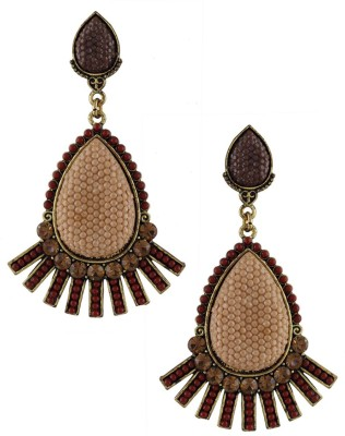 Anuradha Art Designed to perfection Metal Drop Earring