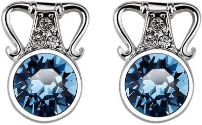 Ouxi Elements Crystal Zinc Drop Earring
