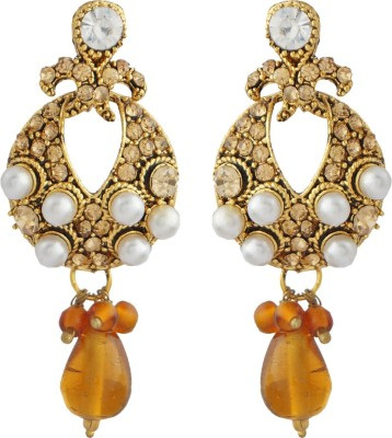Jewels and Deals FE-158 Brass Drop Earring