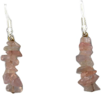 Ear Lobe & Accessories spring sparkle Quartz White Metal Dangle Earring