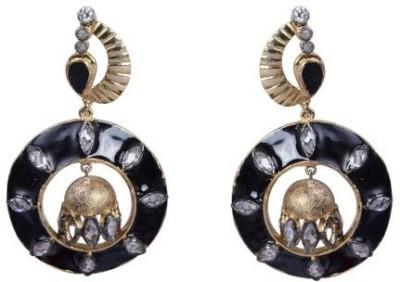 Amalaan Jewels Designer Brass Drop Earring