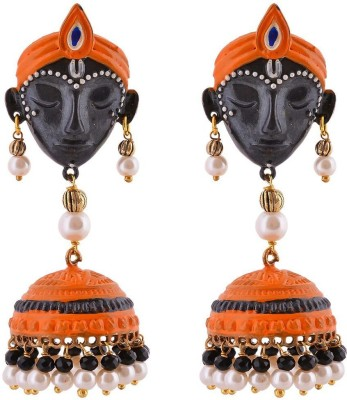 Shree Shyam Handicraft Krishna Metal Jhumki Earring at flipkart