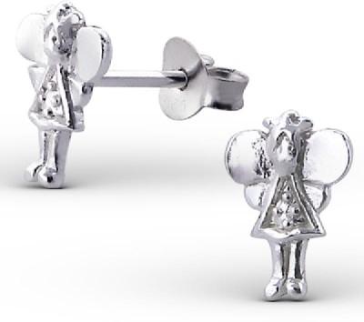 Maayin Angel Sterling Silver Stud Earring