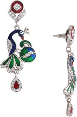 Spargz Brass Chandelier Earring