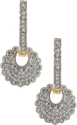 Fashionaya MER875 Cubic Zirconia Alloy Clip-on Earring