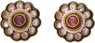Jewar Mandi Unique Jewellery Metal Stud Earring