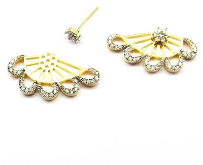 E-Designs ERG32G018-338 Cubic Zirconia Alloy Stud Earring