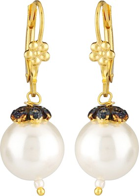 Be You Attractive Pearl Brass Clip-on Earring